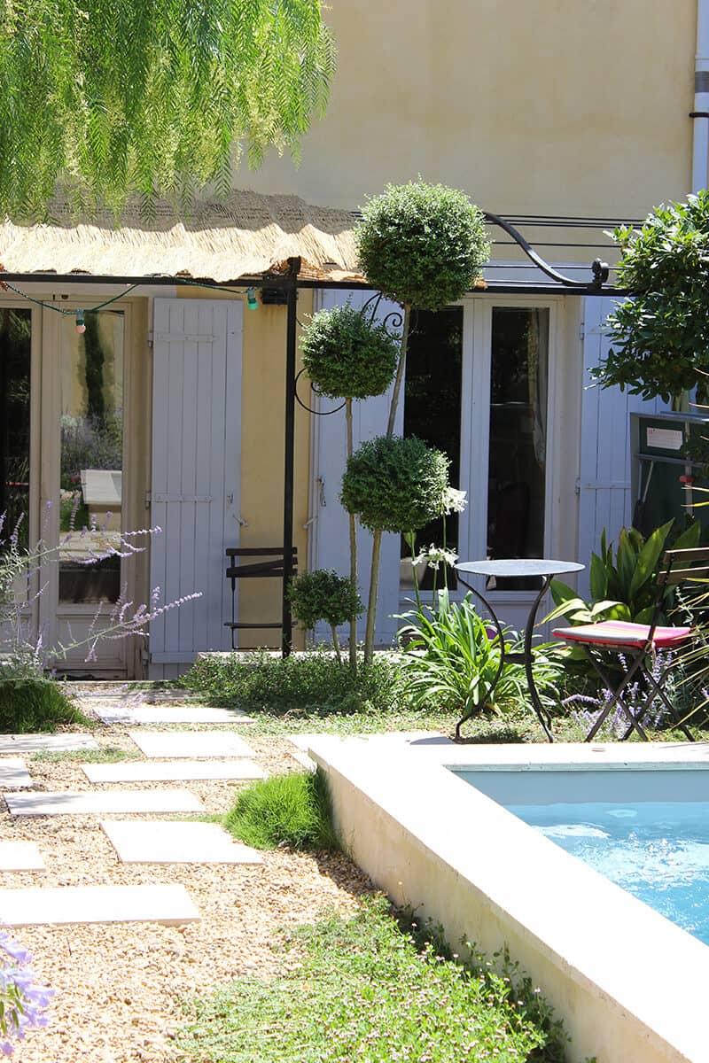 Aménagement Jardin Avignon Châteaurenard Saint Remy Provence