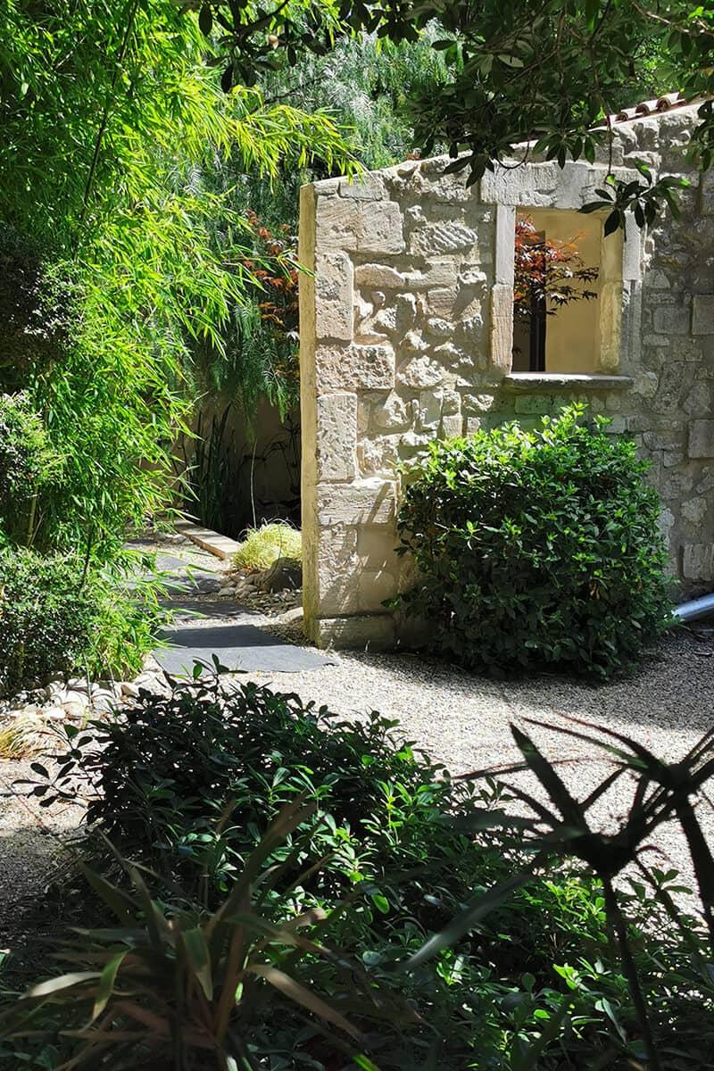 Aménagement jardin Japonais Paysager Avignon Châteaurenard Saint Remy Provence