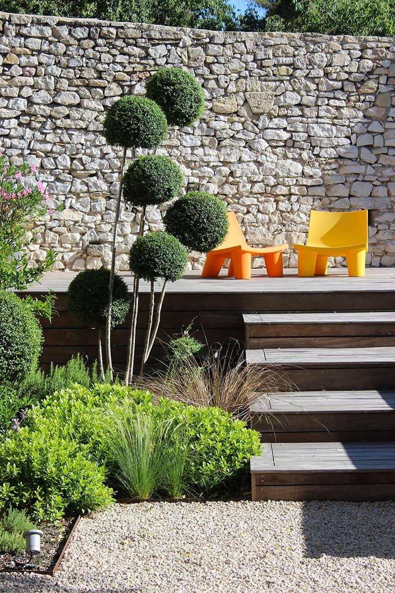 Paysagiste Aménagement Jardin Tradition Design Avignon Châteaurenard Saint Remy Provence