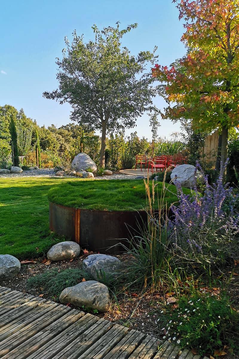 Paysagiste Aménagement Jardin Tout en Rondeur Avignon Châteaurenard Saint Remy Provence