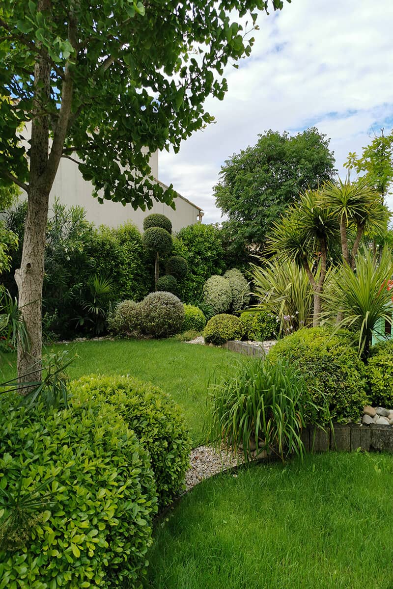 Paysagiste Aménagement Jardin Jeux de Formes Avignon Châteaurenard Saint Remy Provence