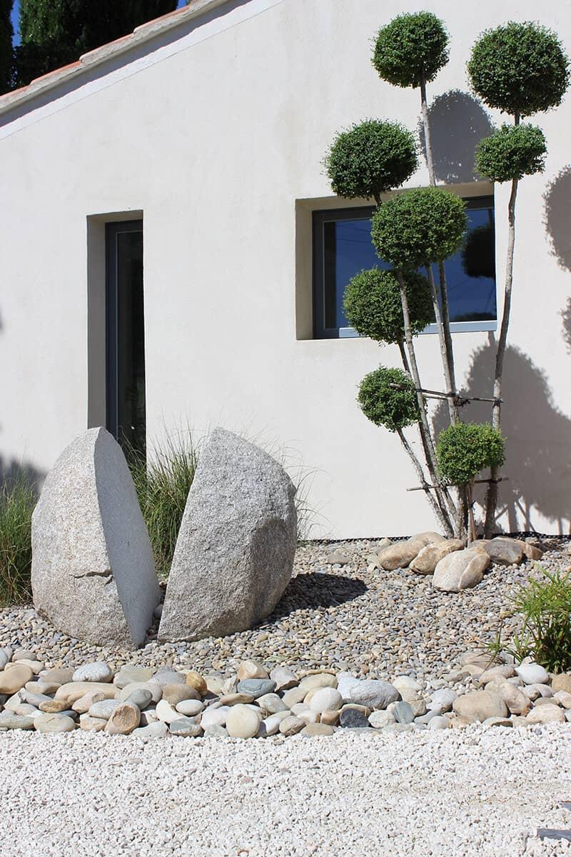 Paysagiste Aménagement Jardin Blanc Avignon Châteaurenard Saint Remy Provence