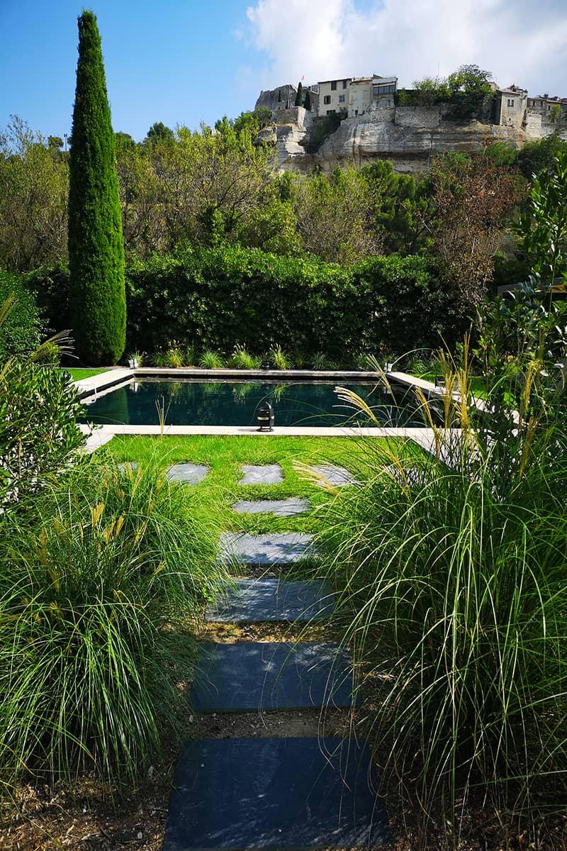 Paysagiste Baux de Provence charme Avignon Châteaurenard Saint Remy Provence Lubéron
